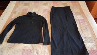 Продаю б/у костюм : юбка в пол, с кофтой, в Бишкек