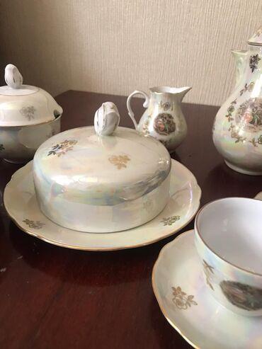 fuzhery-6-sht в Кыргызстан: Настоящий немецкий сервиз Мадонна, в наличии большой чайник-кофейник