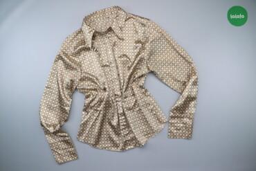 1537 объявлений: Жіноча сорочка з принтом, р. L   Довжина: 65 см Ширина плечей: 46 см Д