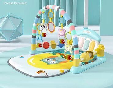 Детский игровой коврик с пианино . Яркий, мягкий, многофункциональный