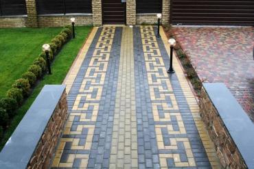 ремонт под ключ - Azərbaycan: Укладка тротуарной плитки.Наша опытная команда уже более 15 лет