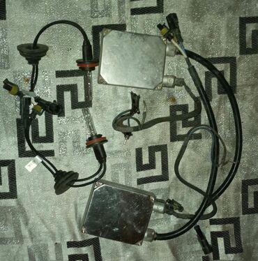 H8 ksenon. Blok ve lampa