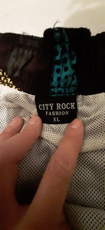 Muška odeća | Vrbas: Muski sorc, CITY ROCK XL, moze i za plazu, za kupanje. Nosen, ali