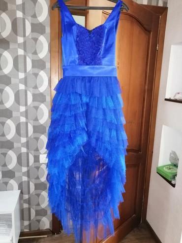 серьги золото 375 проба в Кыргызстан: Продаётся платье б/у одевалось один раз, размер 42-44, Цена 2300 в