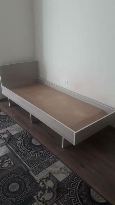 Односпальные кровати - Кыргызстан: Односпальный кровать 1499 сом срочно в хорошем состоянии