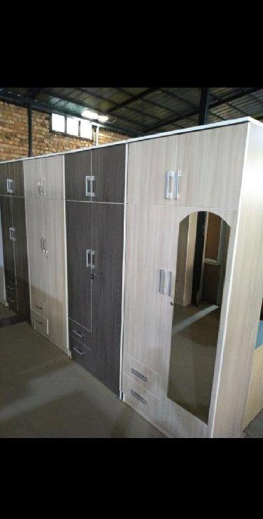 шкаф двухдверный в Кыргызстан: Новые двухдверные шкафы из российского ламинатаШирина 80смВысота