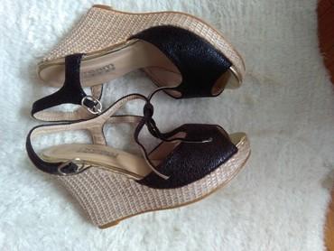 Sandale nove nikad nosene,pise 38 al je manji kalup,vidi slike,za vise - Sombor