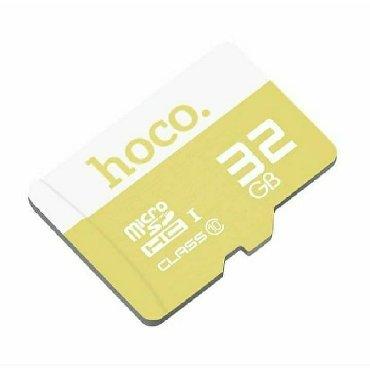 micro-sd - Azərbaycan: Yaddaş kartı 32GB MİCRO SD CART Hoco brendi firmanın öz malıdır