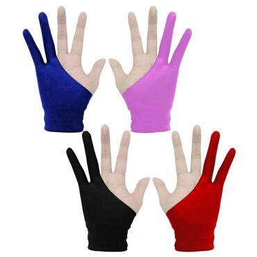 Əlcəklər - Azərbaycan: Перчатки для рисования новые 4 шт Размер S Цена 1 шт 5 манат