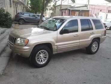 Jeep Azərbaycanda: Jeep Grand Cherokee 4 l. 2001 | 109500 km