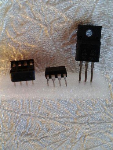 Bakı şəhərində Mikrosxema panelle bir yerde uc3845an(5manat)ve tranzistor