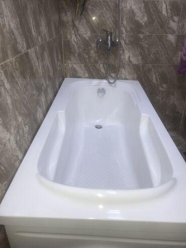 ванна из стекловолокна в Азербайджан: Islenmis akril vanna. Olcusu 150x70 sm. Sinigi ve cizigi yoxdur