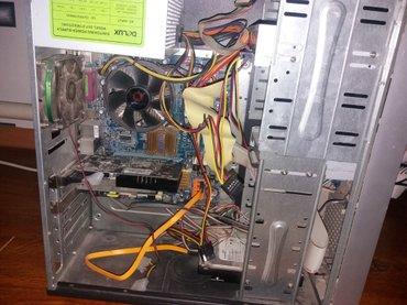 компютер 2х ядерный оперативка 1g видео карта gt430 1g 128 bit жесткий в Лебединовка