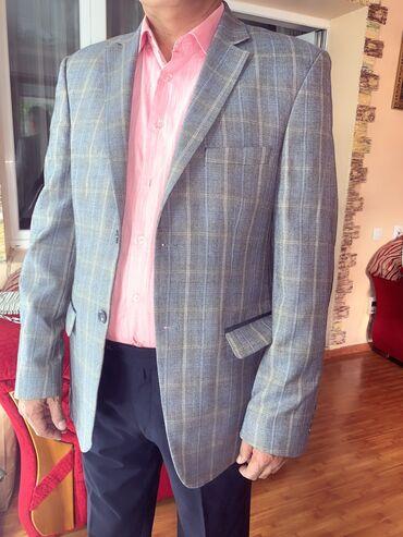 Продаю пиджак состояние новое производство Турция, размер 52-54