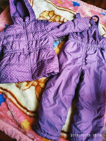 Зимний костюм, комбинезон на 5-6 лет.  Состояние на 4. Еврозима в Бишкек