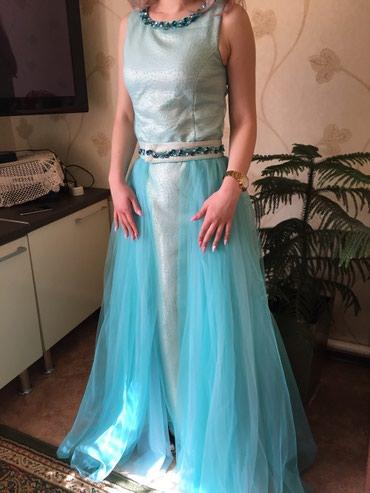 вязаные платья на выпускной в Кыргызстан: Выпускное платье Сшито на заказ, камни Своровски Двойное 7500