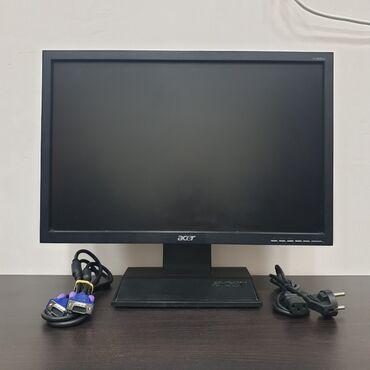 """Acer V193W b, vga, 18.5"""" (47см), 1366х768, TN, матовая, 90°/65°"""