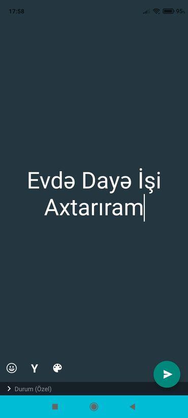 15 elan | İŞ: Dayə. 30