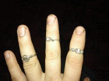 Кольцо серебро штуки 500 в Бишкек