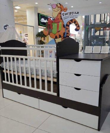 воспитатель детского сада вакансии в Кыргызстан: Кроватка трансформер с фрезировкой,рисунок совушка🧸Мишка с цветами и