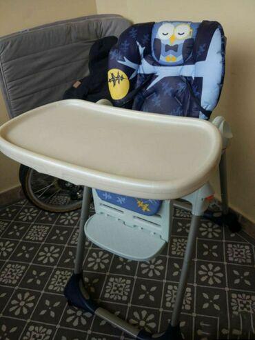 Бу Chicco стул для кормления, все в исправном состоянии, все механизмы
