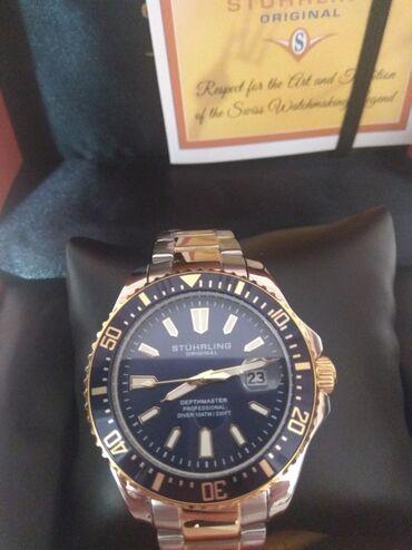 Продаю часы Stuhrling . Водозащита 330 футов. Новые в упаковке. Из