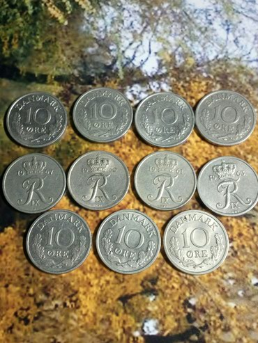 Kovanice 10 ore Danska 10 din cena po kovanici
