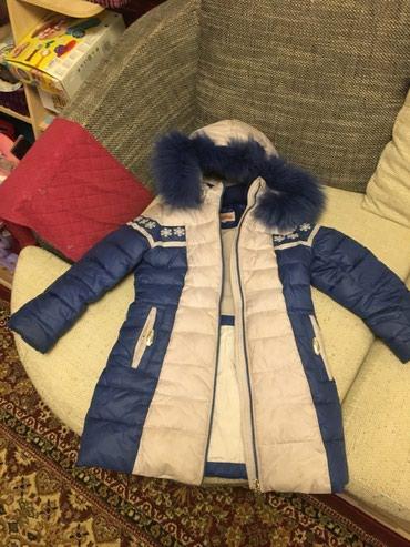 Детская куртка девочковая зимняя на 8 в Бишкек