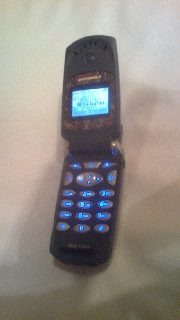 Motorola в Кыргызстан: Продаю Моторолу V60T рабочую стандарт TDMA цветную на