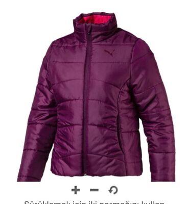 puma 43 в Кыргызстан: Шикарная зимняя куртка PUMA на девочку 6-7 лет. Новая. Заказали, не