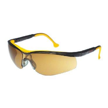 Очки защитные открытого типа с коричневым светофильтром с нанесённым