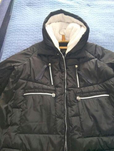 Куртки - Кыргызстан: Удлиненная женская куртка, длина до середины бедра, подойдёт на