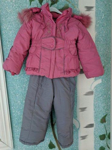 Комбинезон зимний на 4-5 лет,в хорошем в Бишкек