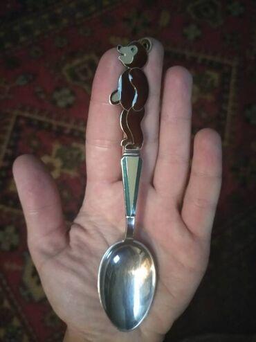 Коллекционные ложки - Бишкек: КУПЛЮ чайную ложечку как на фото. Для пополнения набора