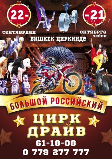 Российский цирк представляет в Кант