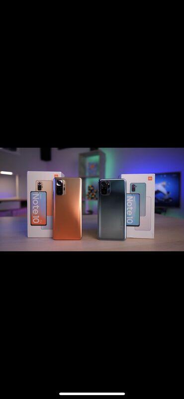 Xiaomi Redmi Note 10 | 128 ГБ | Новый | Гарантия, Сенсорный, Отпечаток пальца