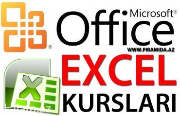 Bakı şəhərində Peşəkar Excel kursları