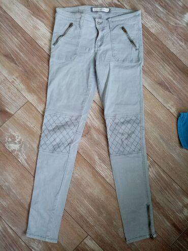 Pantalone cm - Srbija: Duboke pantalone, skroz uske uz nogu. Poluobim struka 37cm,dubina