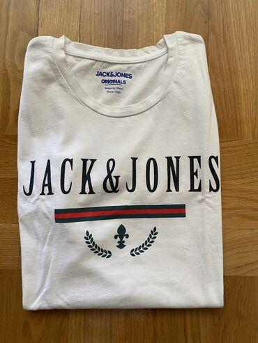 Men's T-shirts - Srbija: Nova Original Jack and Jones majica L velicina Majica je potpuno nova