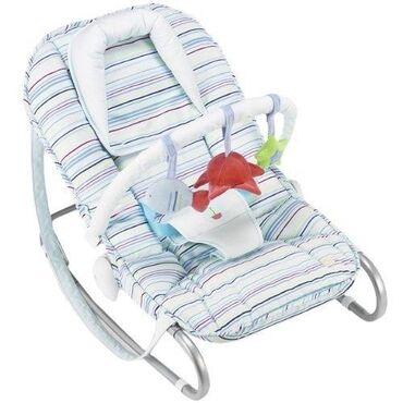 Продается шезлонг Bebeton, предназначена для детей с первых месяцев