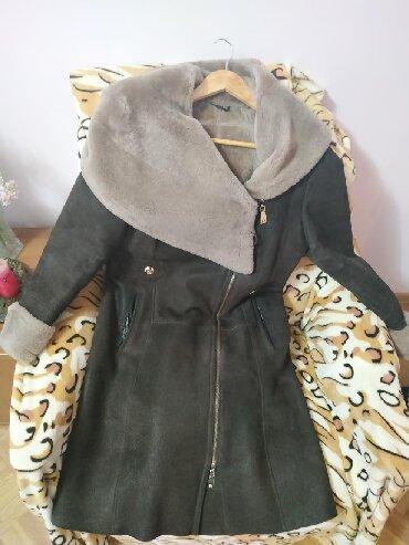 Зимнее пальто Размер - 48Цвет - коричневыйВоротник трансформируется в