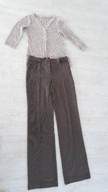 I pantalone broj - Srbija: Komplet bluza I pantalone 38 br