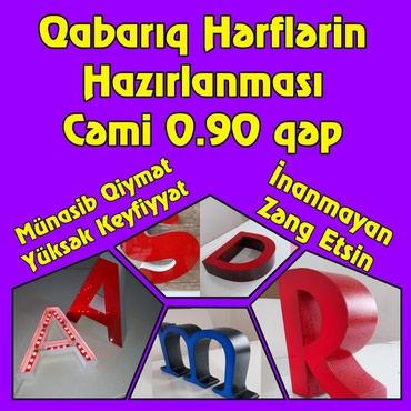Bakı şəhərində Reklam