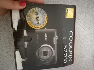 Fotoaparat,nikon coolpix s2700,vrlo malo koriscen,kao nov. - Pozarevac