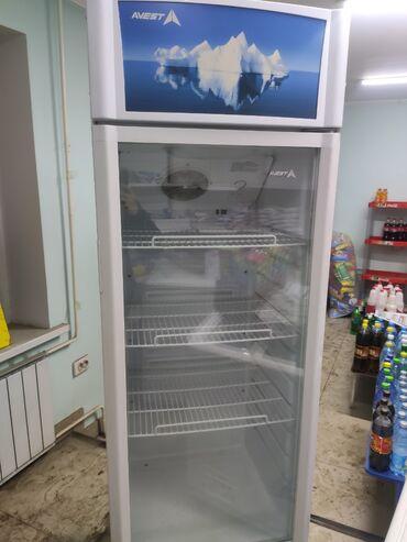 сколько стоит камера в бишкеке в Кыргызстан: Б/у Холодильник-витрина Белый холодильник Avest