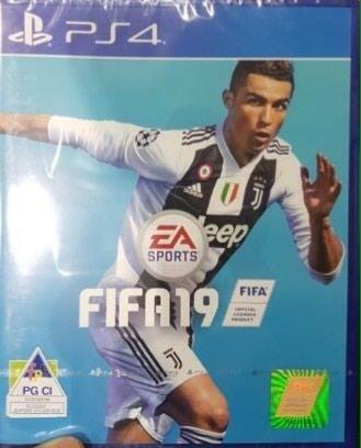 """Bakı şəhərində Ps4 ucun ,,Fifa 19"""" oyun diski.Yenidir .upokovkada"""