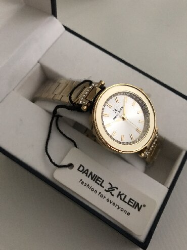 daniel klein в Кыргызстан: Золотистые Женские Наручные часы Daniel Klein