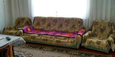 Срочно продаю мягкий мебель+ 2 кресло надежда. В хорошем состоянии в Бишкек