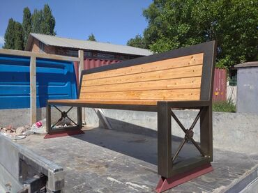 Садовая мебель - Кыргызстан: Скамейка для дома. Скамейка хай-тек