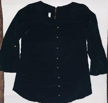 Kosulja-svilena-teget-plava - Srbija: Teget kosulja-bluza